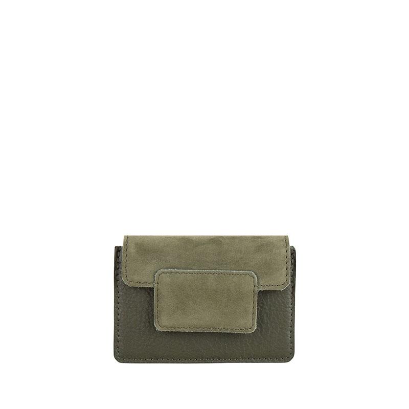 Cowboysbag Two Tone Wallet Louis Green-0