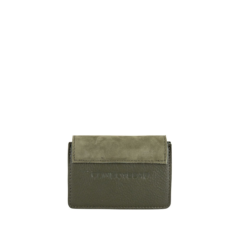 Cowboysbag Two Tone Wallet Louis Green-178108