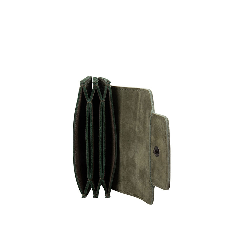 Cowboysbag Two Tone Wallet Louis Green-178109