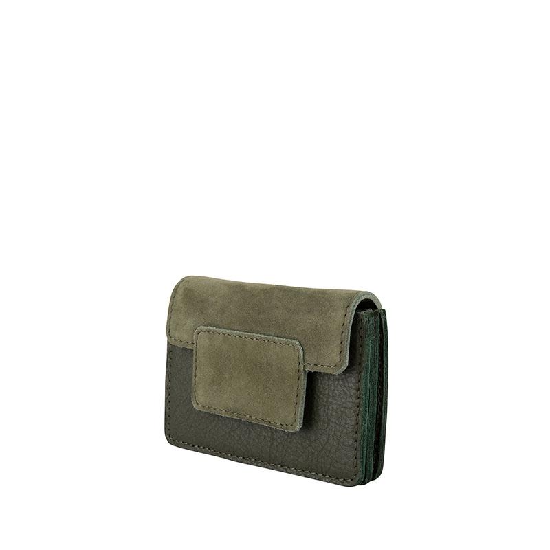 Cowboysbag Two Tone Wallet Louis Green-178110