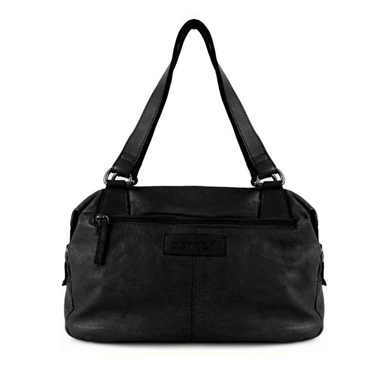 DSTRCT Harrington Road Hand/Shoulderbag Black-0