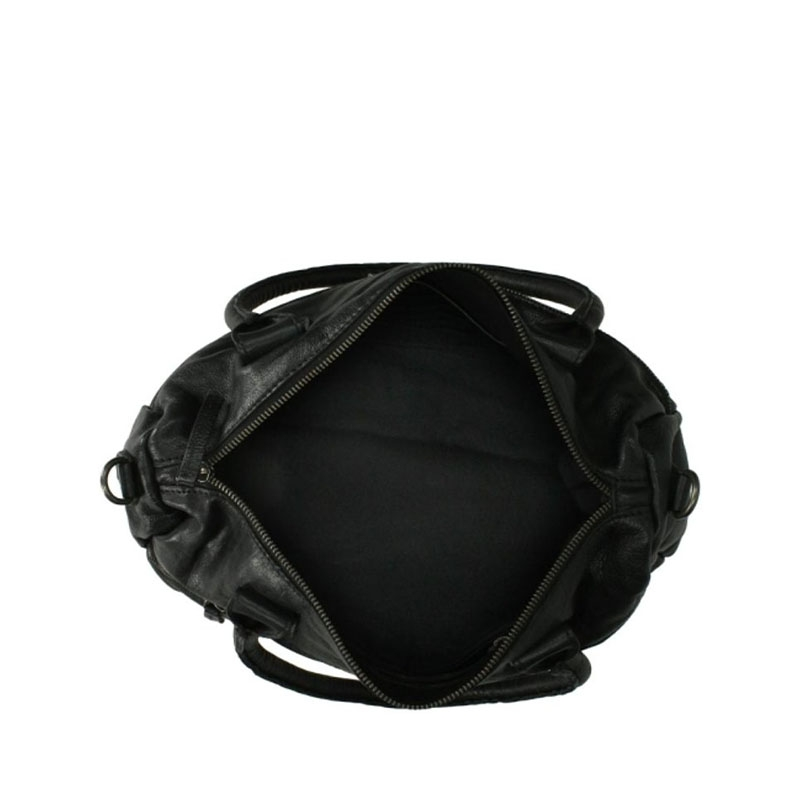 DSTRCT Harrington Road Leather Shoulderbag Black-177374