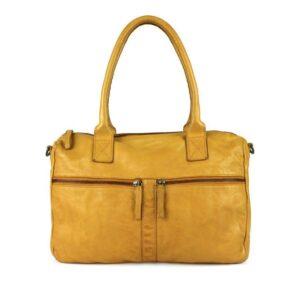 DSTRCT Harrington Road Leather Shoulderbag Yellow