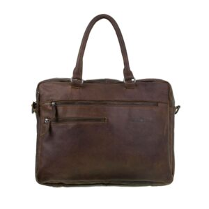 DSTRCT Raider Road 15″ Laptoptas Cognac
