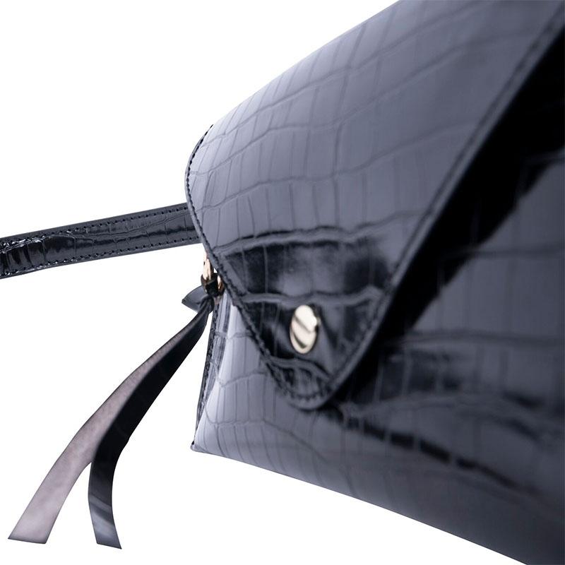 INYATI Ida Hipbag Black Croco-178515