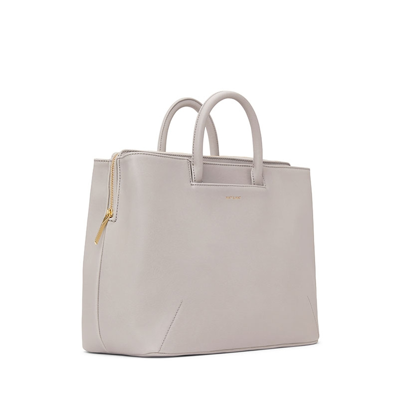 Matt & Nat Kintla Vintage Satchel Bag Pearl-176939