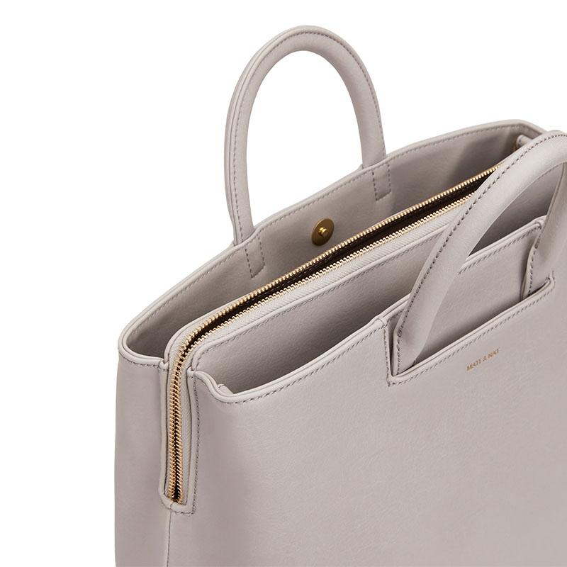 Matt & Nat Kintla Vintage Satchel Bag Pearl-176940