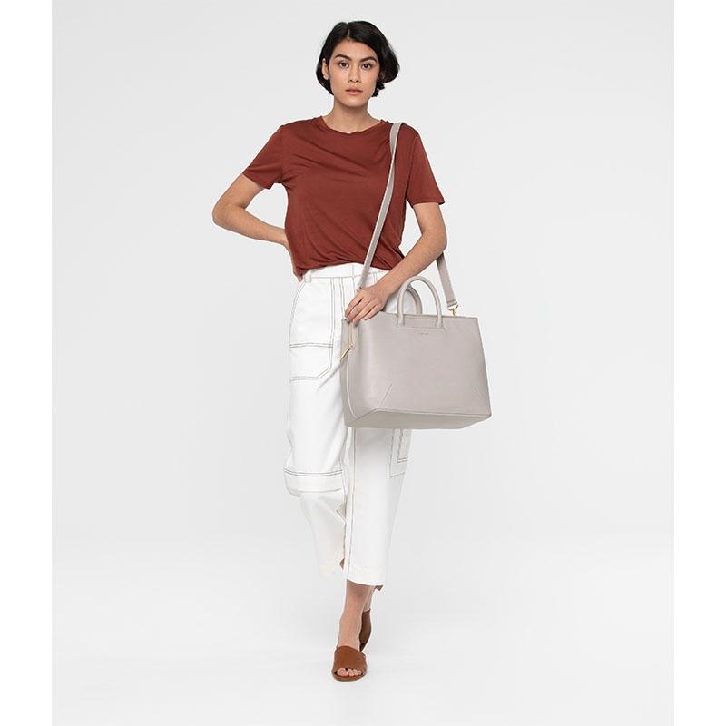 Matt & Nat Kintla Vintage Satchel Bag Pearl-176941