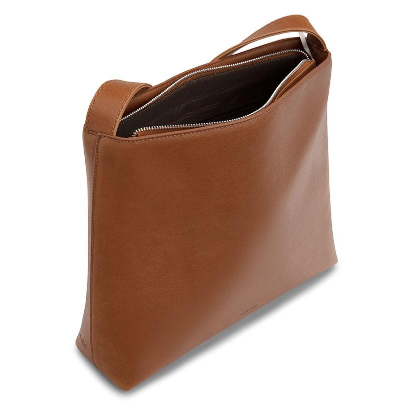 Matt & Nat Minty Messenger Bag Chili Matte Nickel-177132