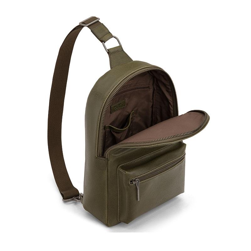 Matt & Nat Sling Bag Olive-177272