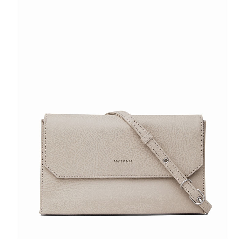 Matt & Nat Suky Crossbody Koala Matte Nickel-0