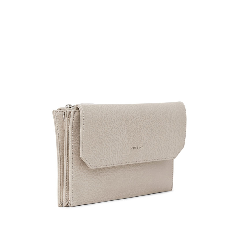 Matt & Nat Suky Crossbody Koala Matte Nickel-177224