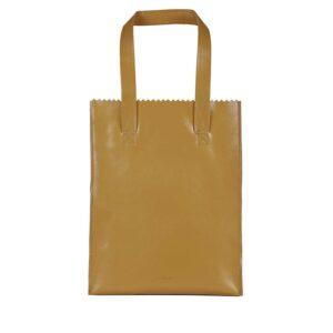 MYOMY My Paper Bag Long Handle Zip Seville Ocher-0