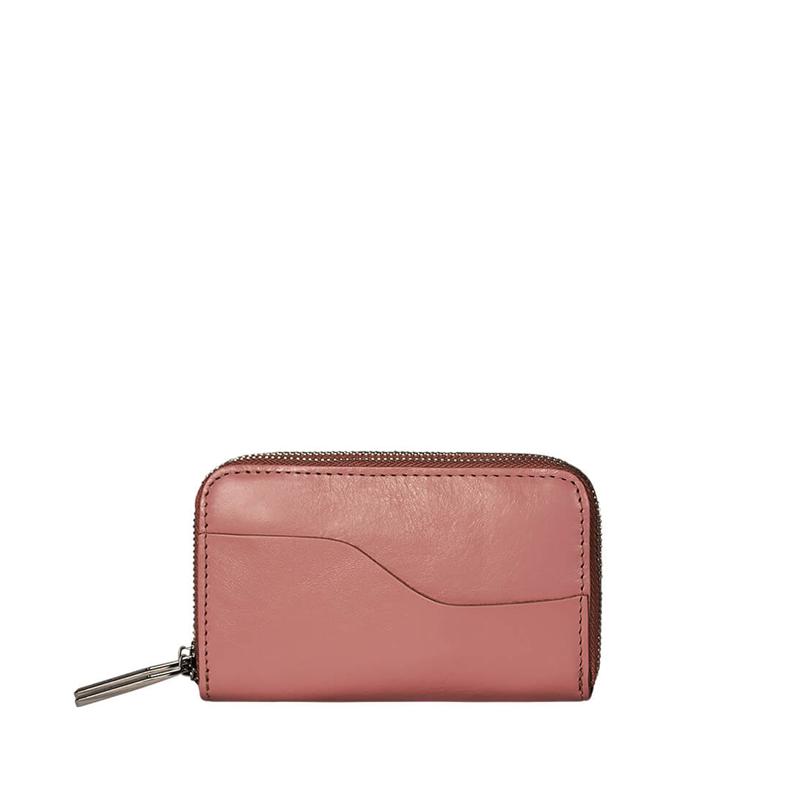 MYOMY My Carry Bag Wallet Medium Hunter Waxy Pink-176709