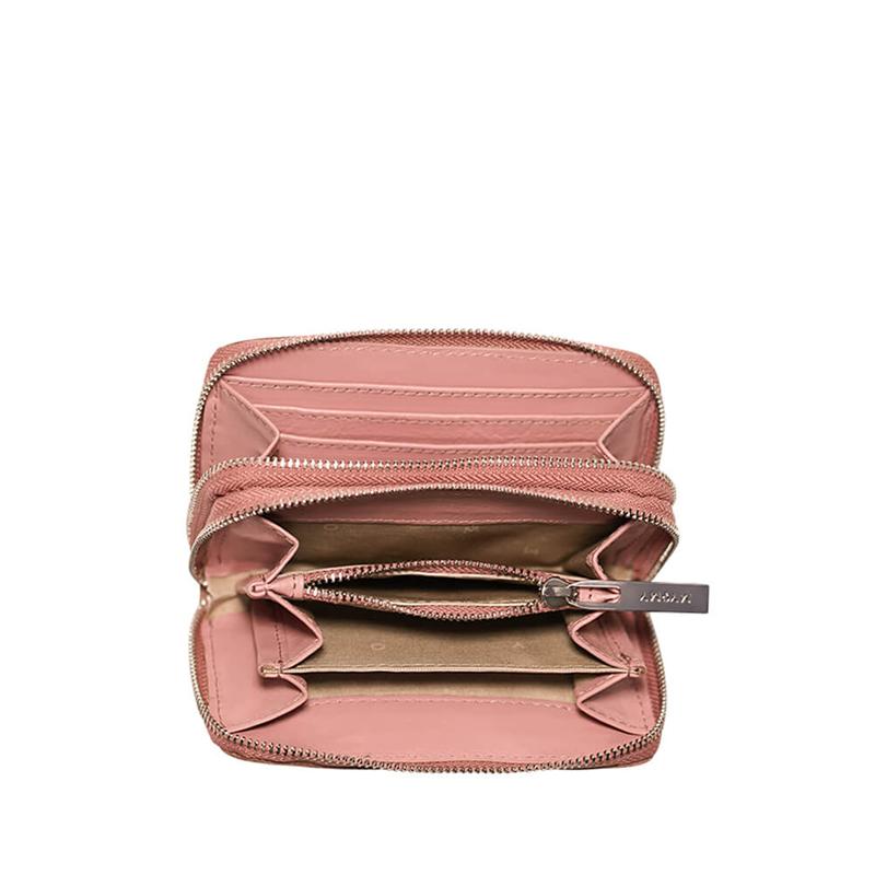 MYOMY My Carry Bag Wallet Medium Hunter Waxy Pink-176710