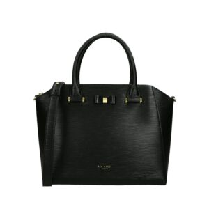 Ted Baker Daryyl Bow Detail Tote Black-0