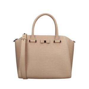 Ted Baker Daryyl Bow Detail Tote Taupe-0