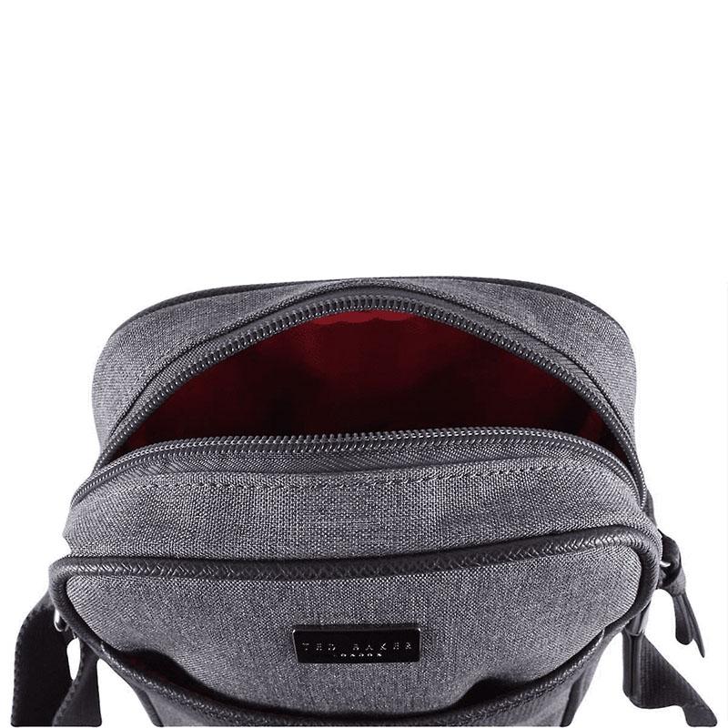Ted Baker Quik Nylon Flight Bag Grey-179832