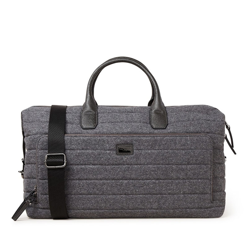 Ted Baker Ruffle Wool Holdall Grey-0