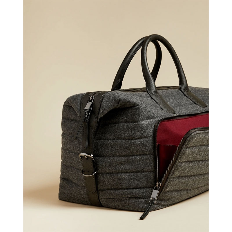 Ted Baker Ruffle Wool Holdall Grey-179890