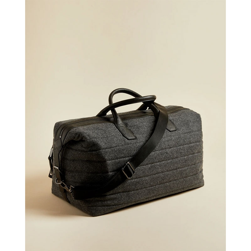 Ted Baker Ruffle Wool Holdall Grey-179892