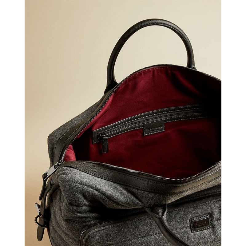 Ted Baker Ruffle Wool Holdall Grey-179893