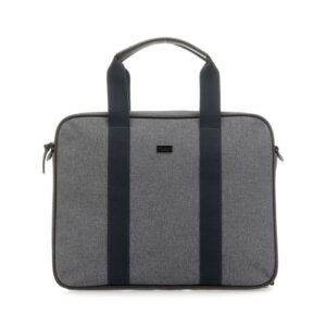 Ted Baker Runaway Nylon Document Bag Grey Marl-0