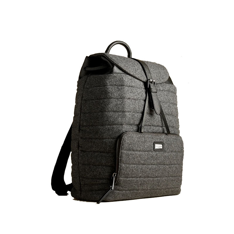 Ted Baker Textee Wool Backpack Grey-0