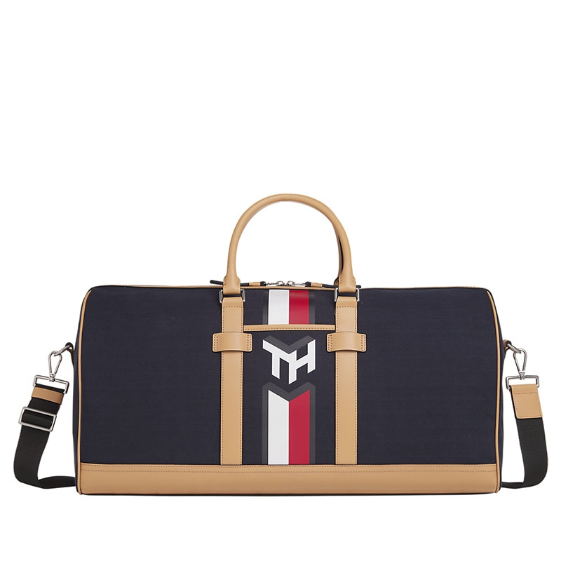 Tommy Hilfiger Casual Canvas Weekender Sky Captain-0