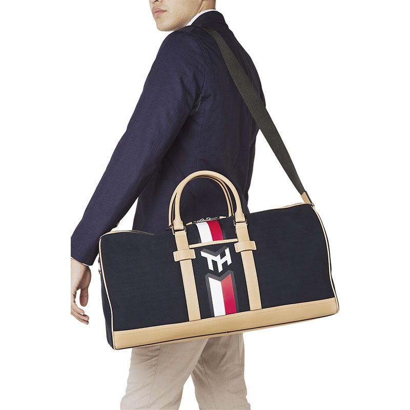 Tommy Hilfiger Casual Canvas Weekender Sky Captain-179595