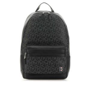 Tommy Hilfiger TH Monogram Backpack Black-0