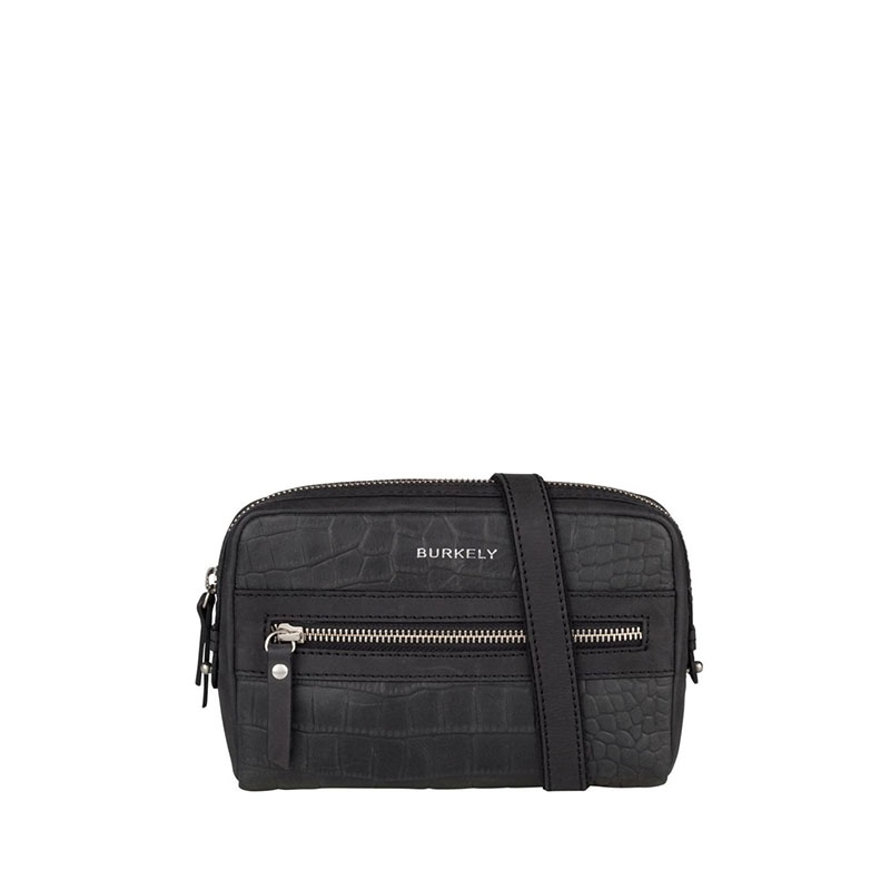 Burkely Croco Cody 5-Way Bag Black-0