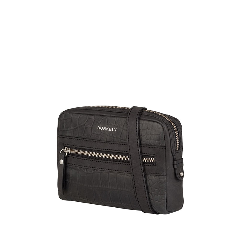 Burkely Croco Cody 5-Way Bag Black-178830