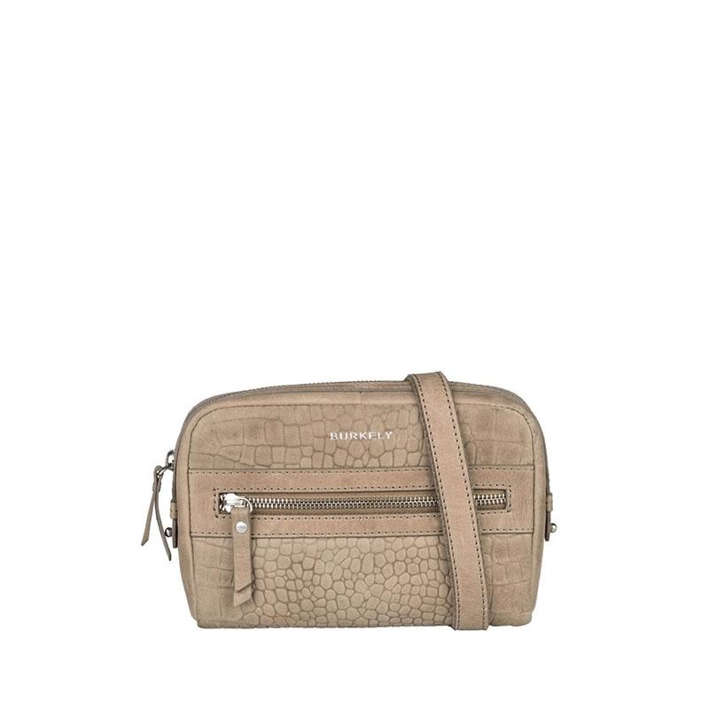 Burkely Croco Cody 5-Way Bag Dark Grey-0