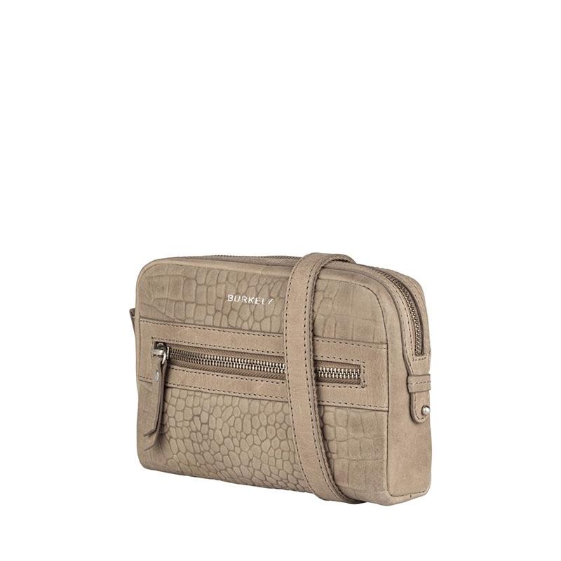 Burkely Croco Cody 5-Way Bag Dark Grey-178836
