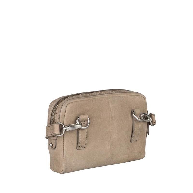 Burkely Croco Cody 5-Way Bag Dark Grey-178837