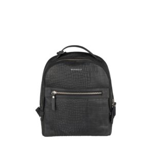 Burkely Croco Cody Backpack Black-0