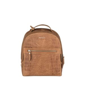 Burkely Croco Cody Backpack Cognac-0