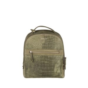 Burkely Croco Cody Backpack Light Green-0