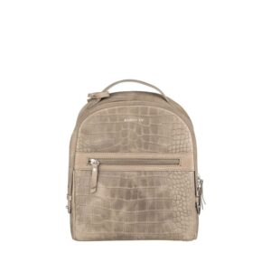 Burkely Croco Cody Backpack Dark Grey-0