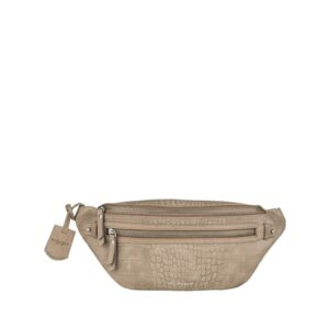 Burkely Croco Cody Bumbag Dark Grey-0