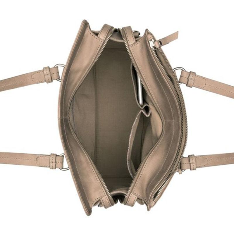 Burkely Croco Cody Handbag Medium Dark Grey-178656