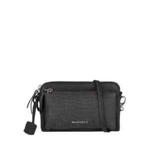 Burkely Croco Cody Minibag Black