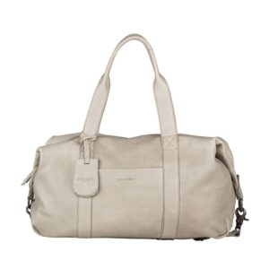 Burkely Just Jackie Duffelbag Light Grey-0