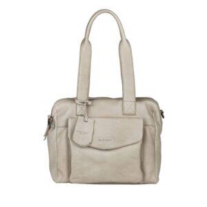 Burkely Just Jackie Handbag Small Light Grey-0
