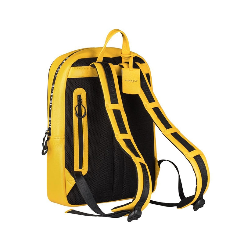 """Burkely Rebel Reese 15"""" Backpack Yellow-180408"""