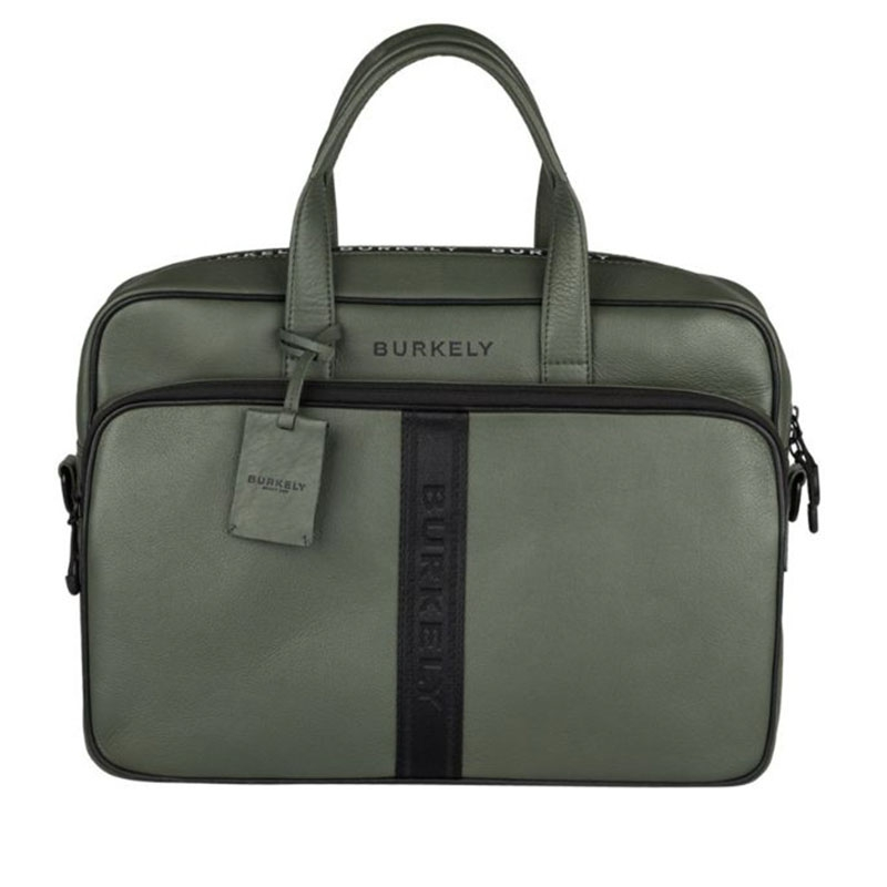 """Burkely Rebel Reese 15"""" Laptopbag Green-0"""