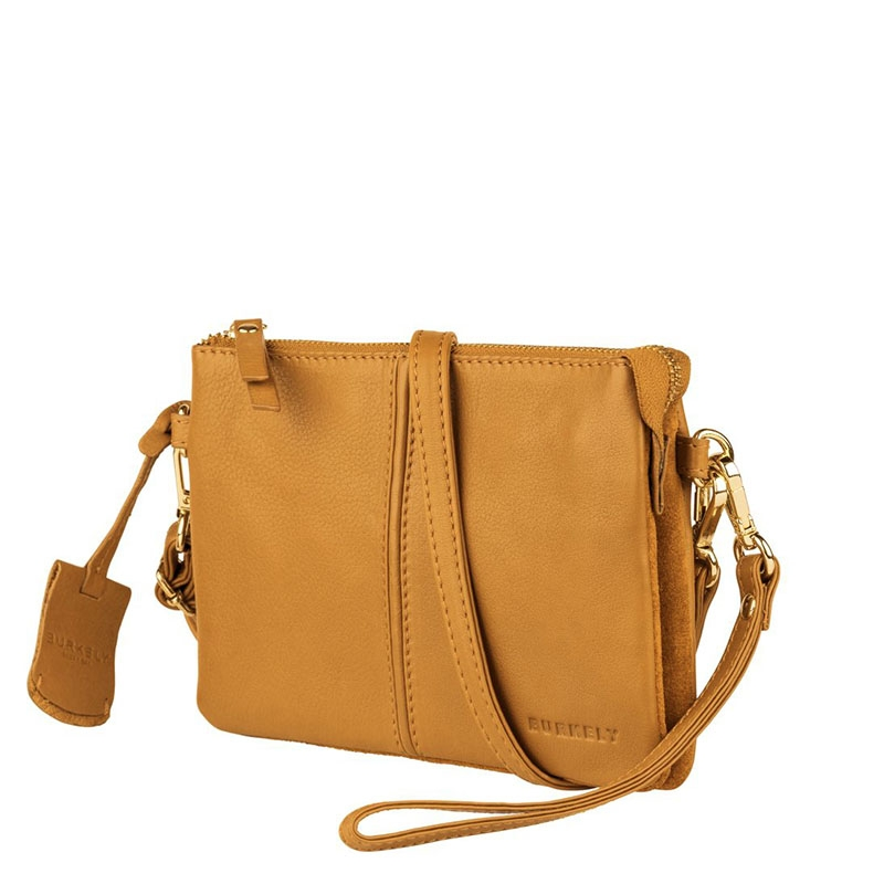 Burkely Secret Sage Crossover Small Amber Yellow-180353