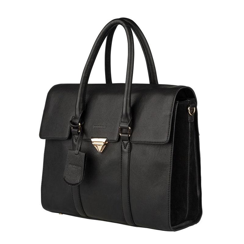 """Burkely Secret Sage Workbag 14"""" Black-180290"""