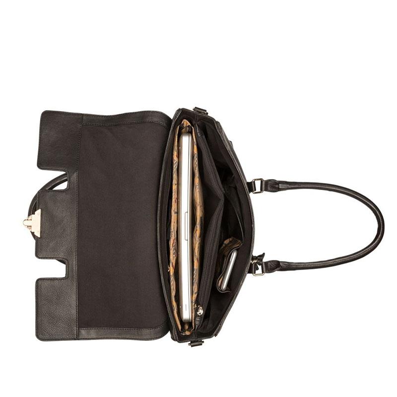 """Burkely Secret Sage Workbag 14"""" Black-180291"""
